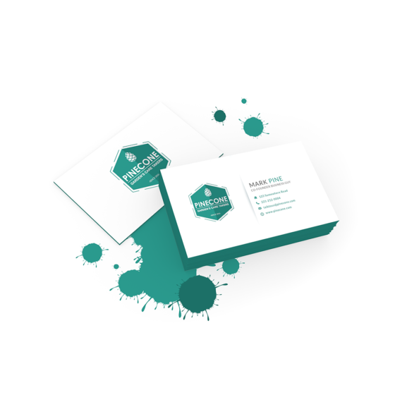 Crosby Interactive Branding Business Cards