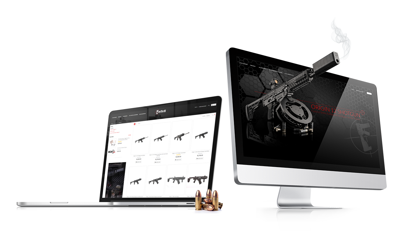 Crosby Interactive Custom Web Design for Firearms