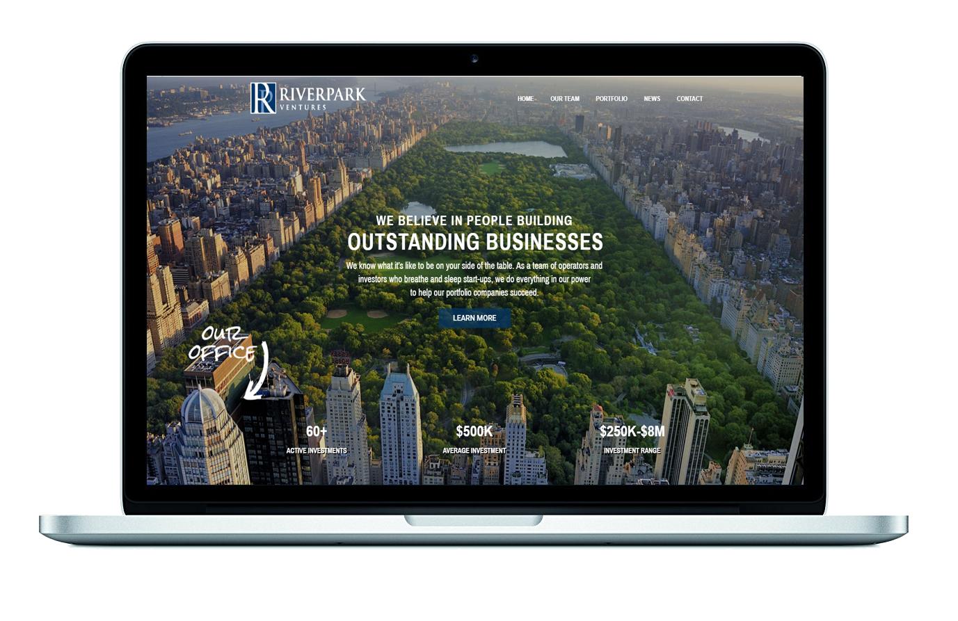 Crosby Interactive Web Design River Park Ventures