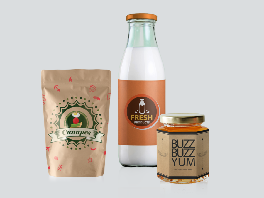 Crosby Interactive Branding Food Labels and Food Packaging