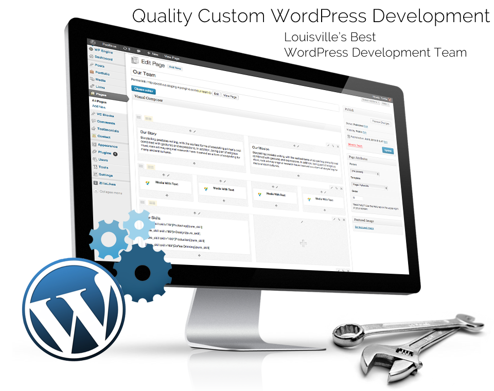Quality Custom WordPress Development. Louisville's Best WordPress Development Team.