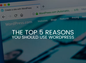 The Top 5 Reasons You Should Use WordPress