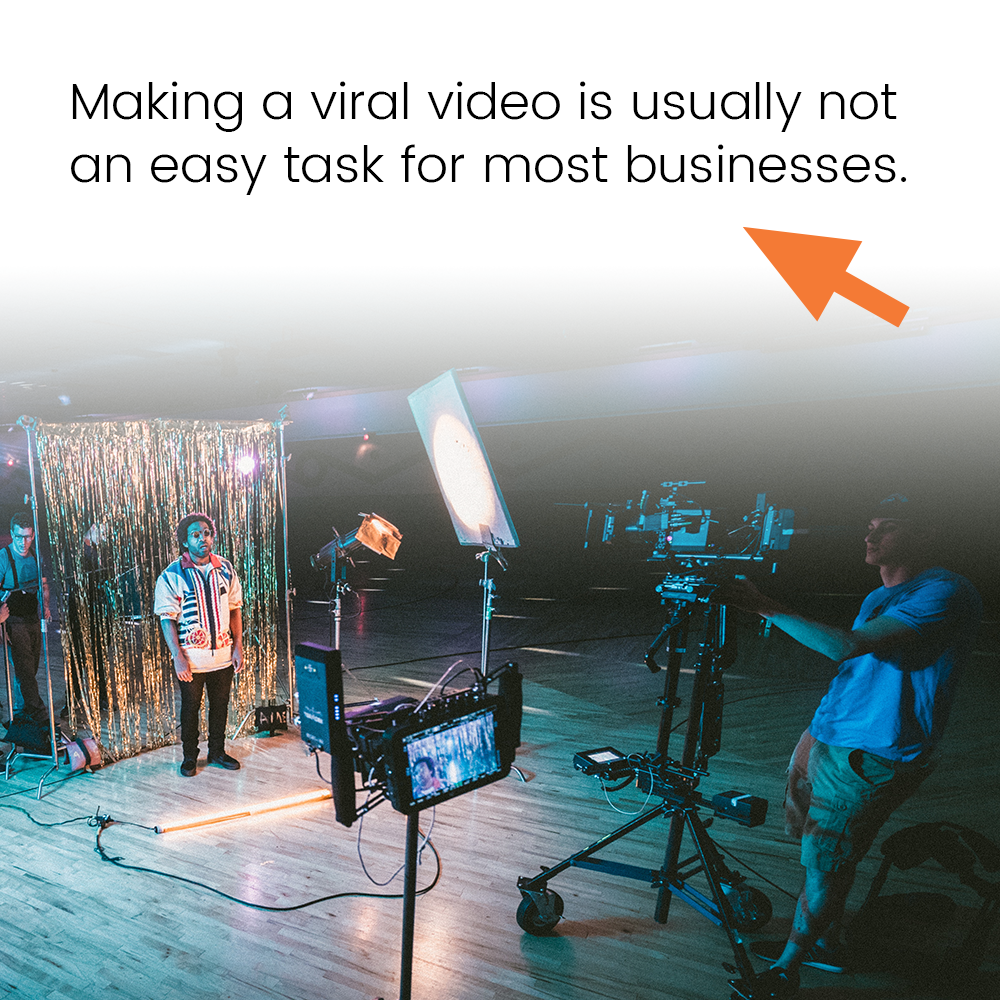 Making a viral video is usually not an easy task for most businesses.