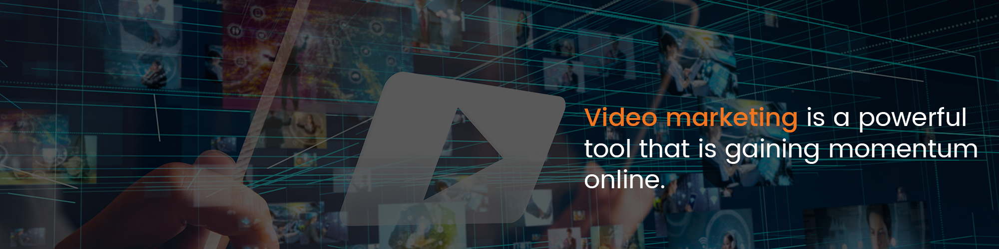 Video marketing is a powerful tool that is gaining momentum online.